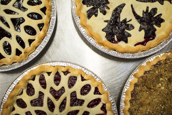 Penn Yan, NY: Lots of fruit pies are made on Thursdays.