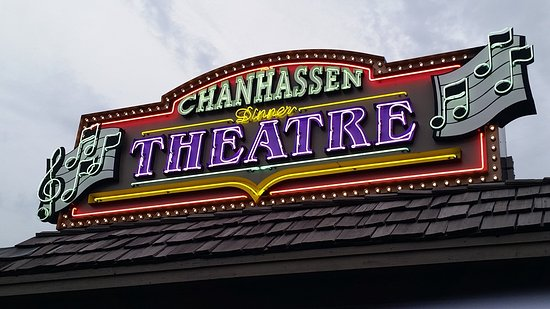 Chanhassen, MN: Chan DT - Neon Sign outside