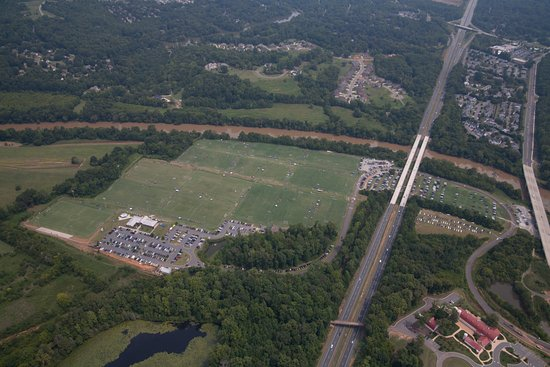 Advance, Carolina del Norte: Aerial View of BB&T Sports Park