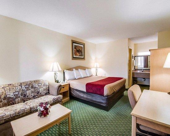 Christiansburg, Βιρτζίνια: King size room