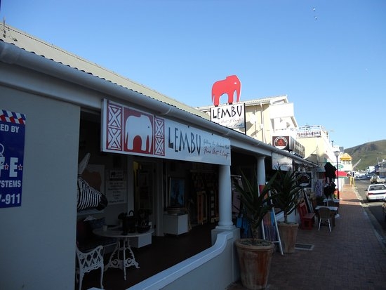 Hermanus, Güney Afrika: Entrata