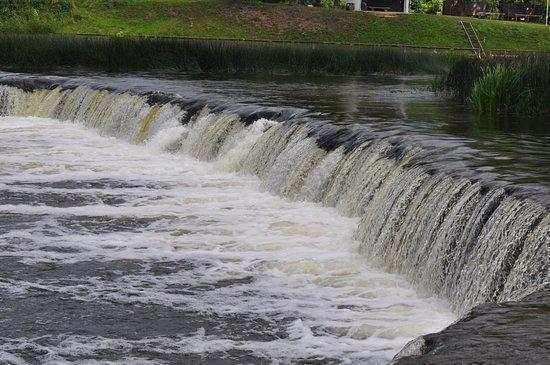 Kuldiga, Lettonia: Водопад