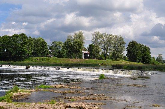 Kuldiga, Lettonia: Будка спасателей