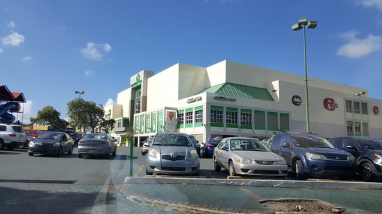 At the parking lot  - Picture of San Patricio Plaza