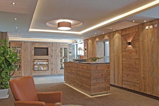 Otztal, Austria: Reception und Eingangsbereich