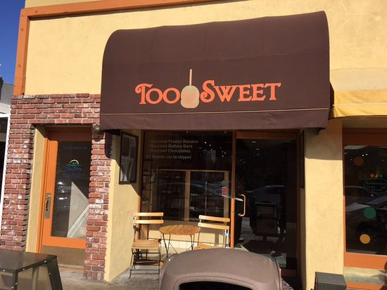 Balboa Island, Californie : Too Sweet Store Front