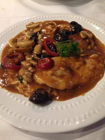 Chicken Sicilian - Picture of Kitchen Consigliere Cafe, Collingswood ...