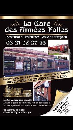 La gare des ann es folles sailly sur la lys frankrijk foto 39 s en revi - La gare des annees folles ...