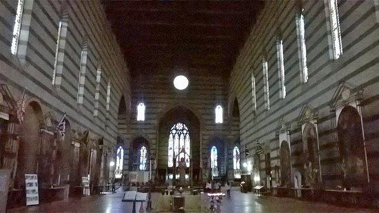 Siena, İtalya: navata