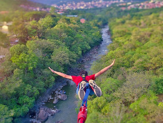 ‪Colombia Bungee Jumping‬