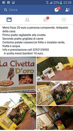 Provincia di Vibo Valentia, Italia: La Civetta D'oro