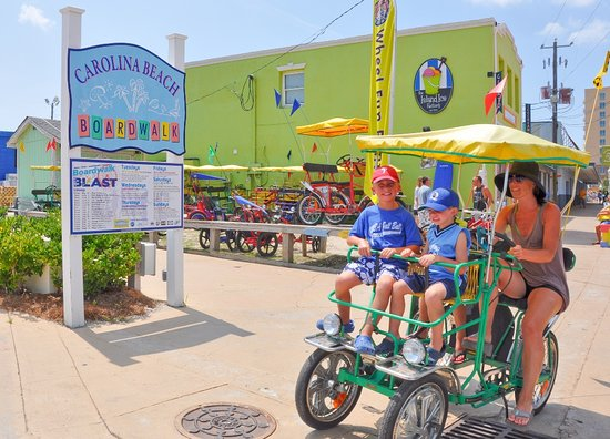 Carolina Beach, NC: Family Surrey Bike Ride