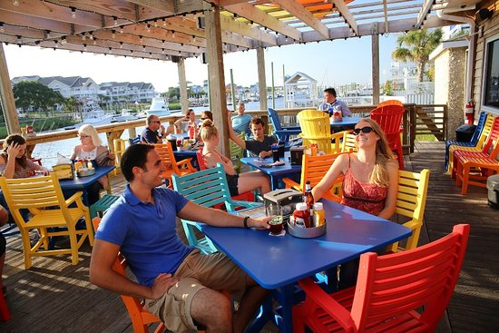 Carolina Beach, NC: Outdoor Dining