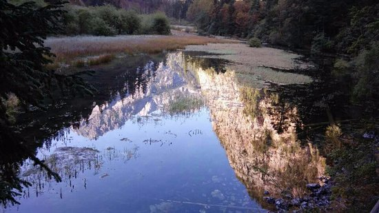 Jianyuan Virgin forest: Beautiful reflection
