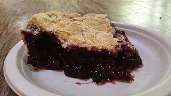 Stehekin, WA: Delicious blackberry pie