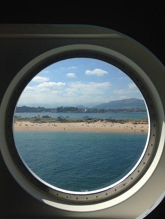 Playa de El Puntal: From the ferry boat