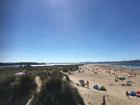 Playa de El Puntal: On site left view