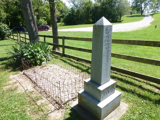Kearney, MO: One of Jesse's grave sites. Visit and learn why.