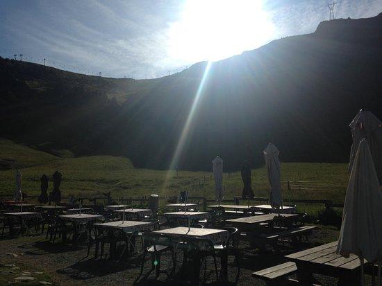 Haute-Savoie, Francia: Au petit matin sur la terrasse