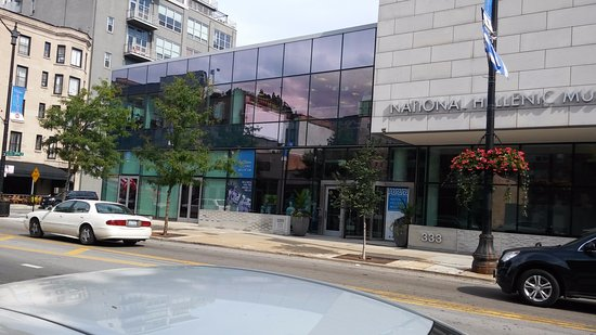 National Hellenic Museum: Front View -II