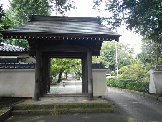 Ebina, Japón: 山門です