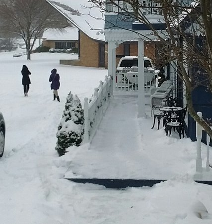 Blowing Rock Victorian Inn: January Snowstorm Jonas 2016