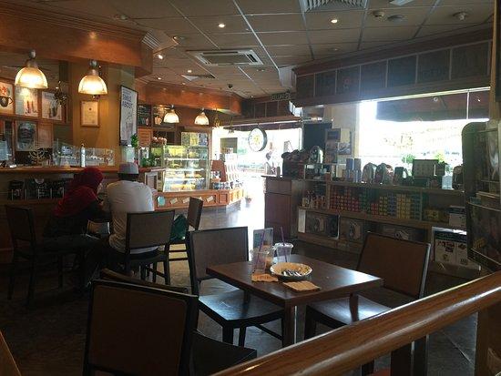 Desain Ruang Tamu Cafe  inside picture of the coffee bean tea leaf bandar seri