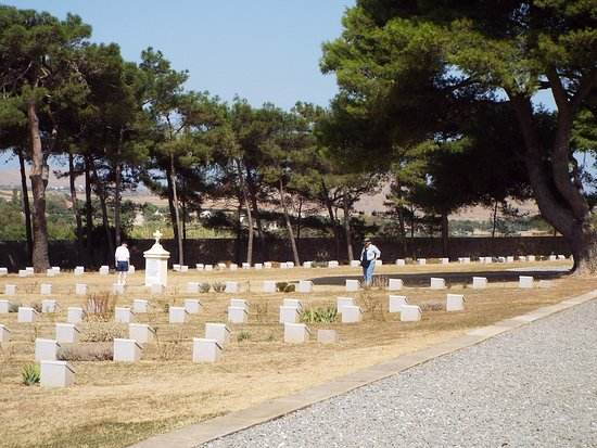 Lemnos, Greece: A Beautiful Resting Place.  Portianos Military Cemetery.