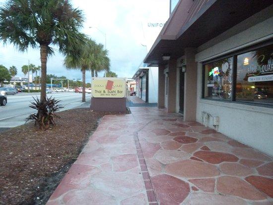 North Miami Beach, FL: Siam Square facing the street - SR 826