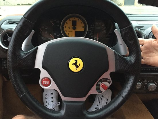 The Cool Steering Wheel Not The Traction Control Switch Picture Of