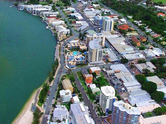 Cerulean Apartments: Ariel view