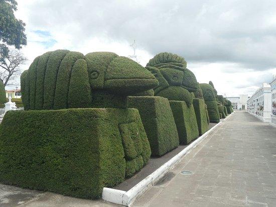 Tulcan, Ekvador: Cementerio Municipal de Tulcán