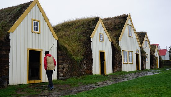 A beautiful turf house belonging to the National Museum of Iceland