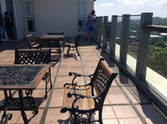 โรงแรม โซฟเฟีย โบราเคย์: 屋上