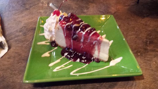 Quispamsis, Canada: Jungle Berry Cheesecake
