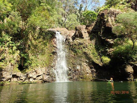 Haiku, Hawaje: Our first falls