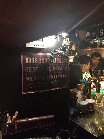 GINZA 300BAR NEXT: Standing bar, there is no seat but able to people close to each other. Only a small basement spa