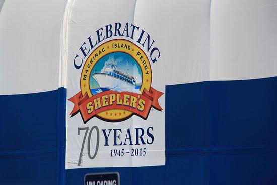 Shepler's Mackinac Island Ferry Bild