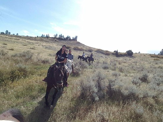Billings, MT: Debb guides the front and Theresa the back!