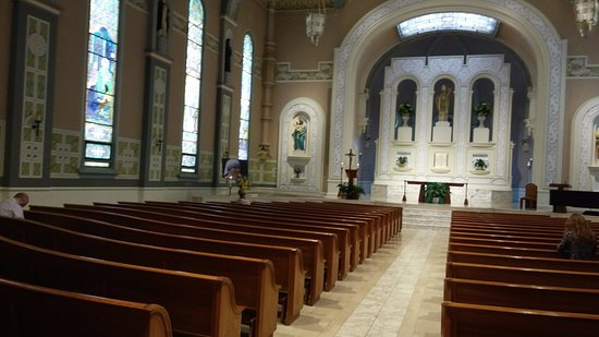 Nice Old St. Patricku0027s Church: Church Interiors