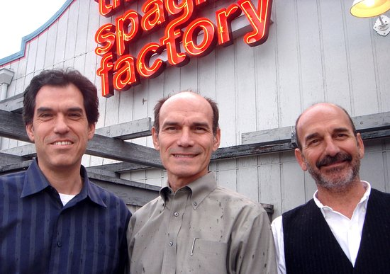 The Old Spaghetti Factory: The Greek owners.