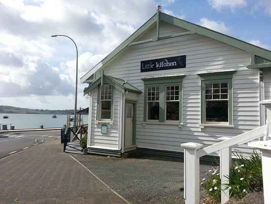 Mangonui, Selandia Baru: Little Kitchen on the bay