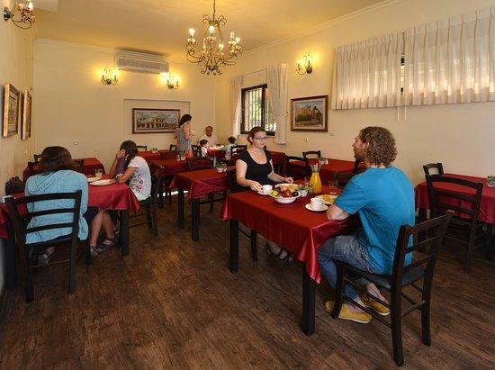 Little House In Rechavia: Dining room