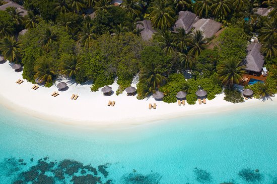 Baros Maldives: Beach view