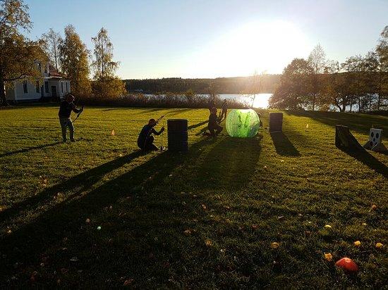 Ludvika, İsveç: Archerytag vid Räfsnäsgården i dalarna #archerytag