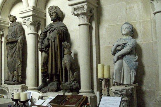 Roseraie de l'Abbaye de Morienval