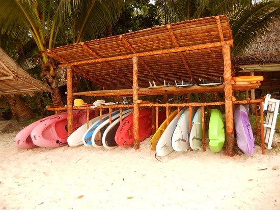 Papatura Island, Îles Salomon : Watersports galore