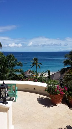 Cap Estate, Saint Lucia: View from the Wellness centre