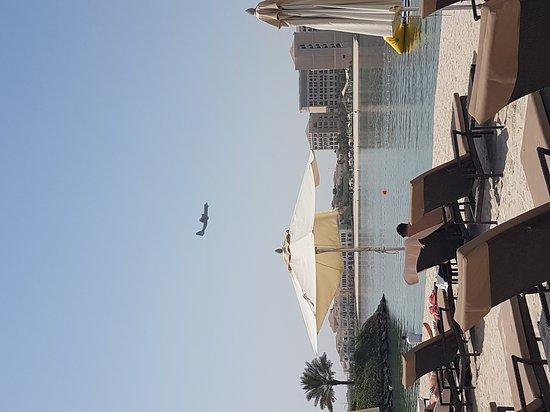 """Fairmont Bab Al Bahr: Merci au calme de cette soit disant """" plage"""""""