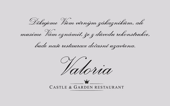 valoria castle and garden restaurant thanks to all food lovers who ve already visited